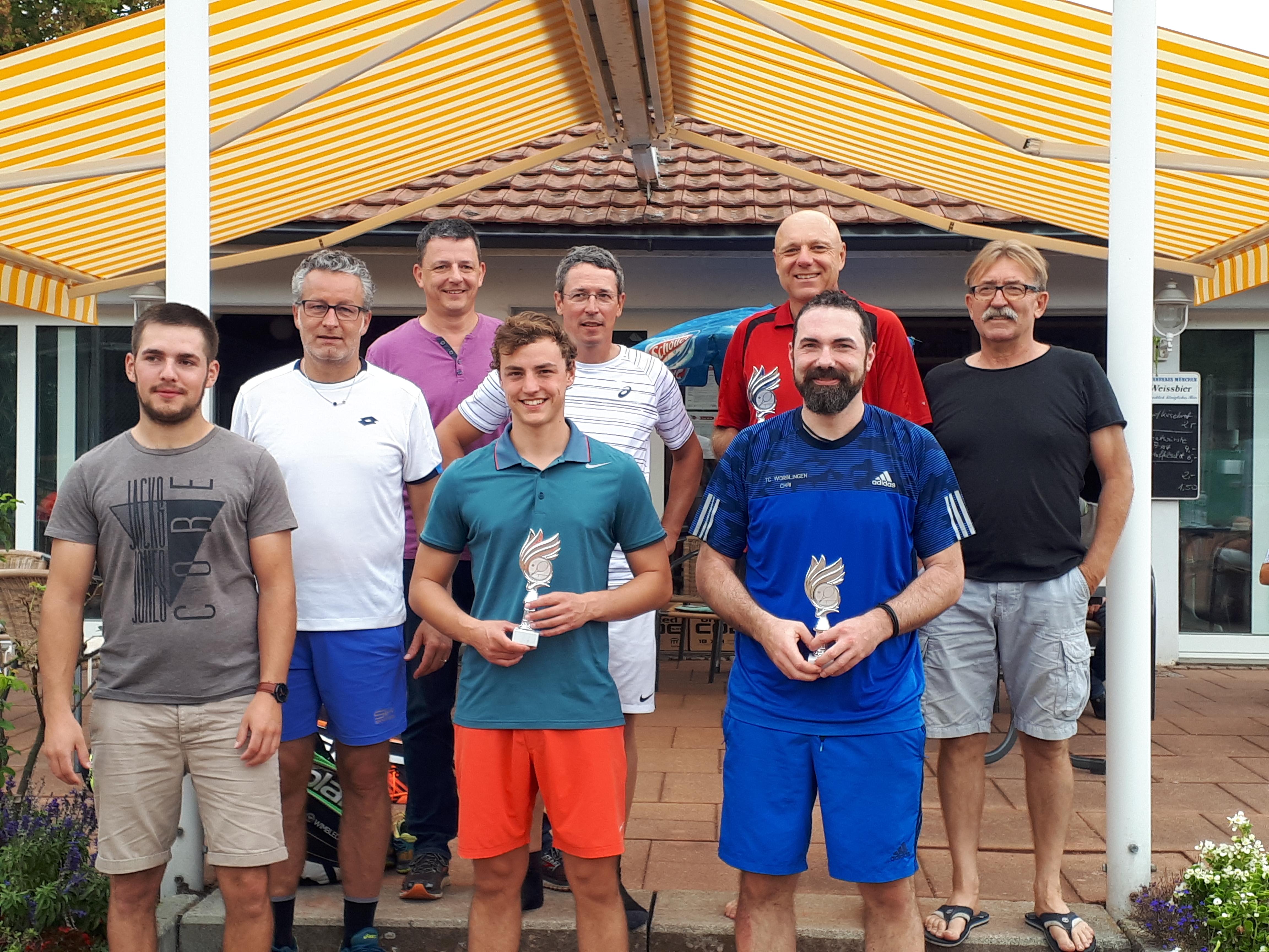 Finalisten der Hegau-Meisterschaften 2018